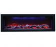 "50 Inch Electric Fireplace Inspirational Amantii Panorama 50"" Deep Electric Fire"