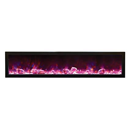 50 Inch Electric Fireplace Unique Amazon Amantii Bi 72 Slim Od Outdoor Panorama Series