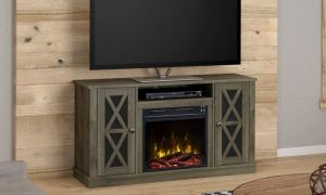 24 New 55 Tv Stand with Fireplace