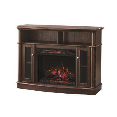 mocha home decorators collection fireplace tv stands 64 400 pressed