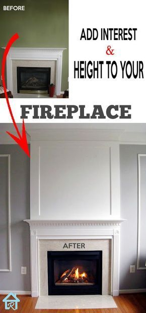 Adding A Fireplace Lovely Adding Visual Interest and Height to Your Fireplace
