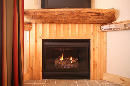 fireplace provided in