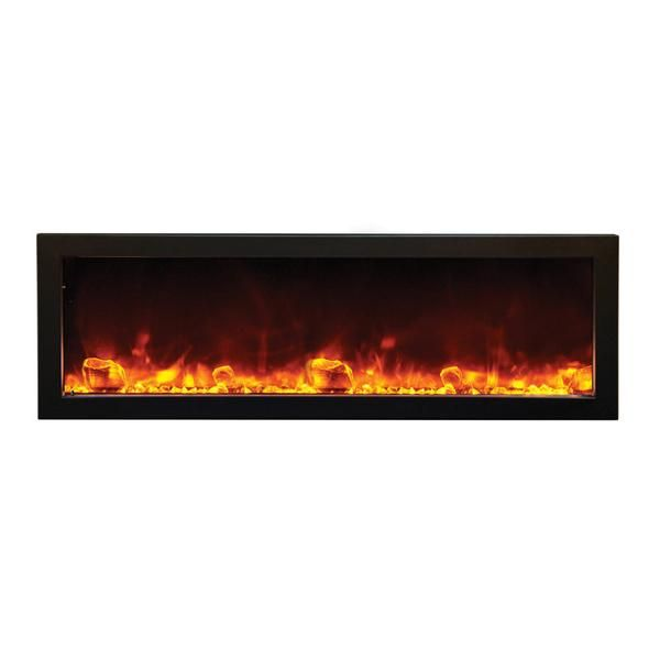 Amantii Fireplace Lovely Amantii Panorama Deep 50″ Built In Indoor Outdoor Electric