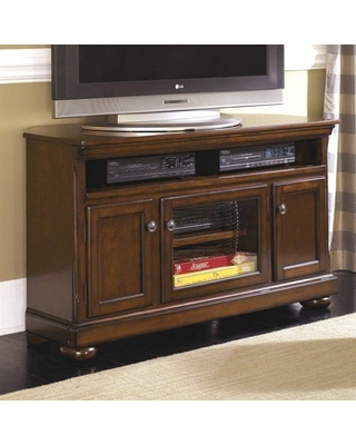 signature design by ashley furniture porter 51 tv stand in brown