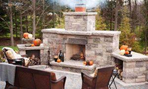 15 Inspirational Backyard Fireplace