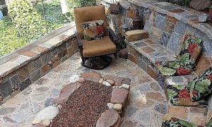 27 Beautiful Backyard Fireplace Ideas