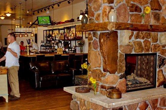 bar fireplace