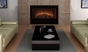 24 Elegant Bathroom Electric Fireplace