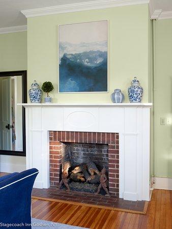 hickok bedroom fireplace