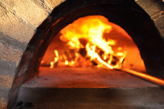 our firewood oven imported