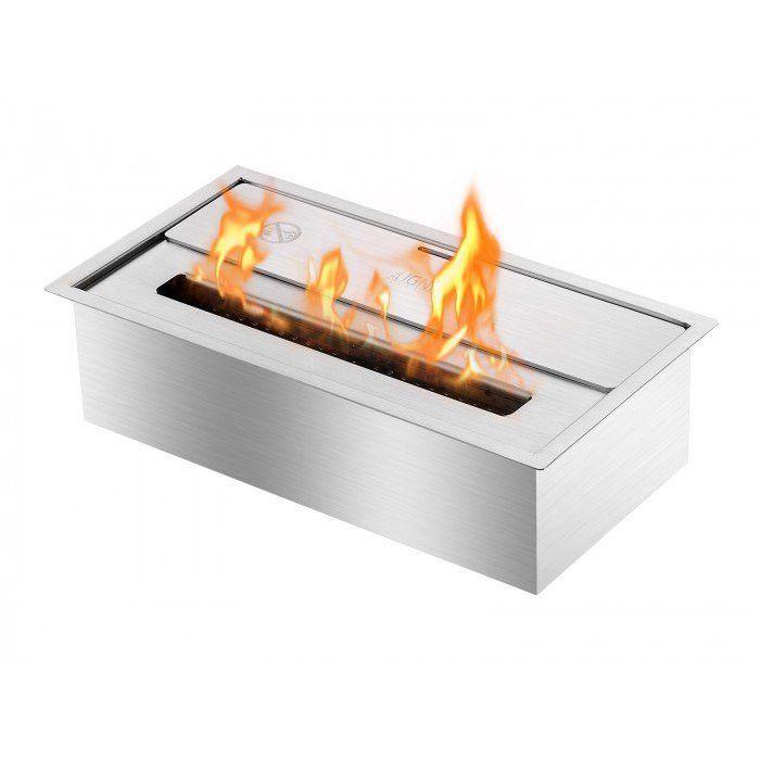 """Bioethanol Fireplace Insert New Ignis Fireplace Insert 14"""" Eco Hybrid Ethanol Burner"""
