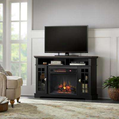 black home decorators collection fireplace tv stands 64 400 pressed