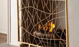 22 Beautiful Black Fireplace Screen