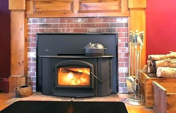 mobile home fireplace wood burning fireplaces homes entertaining napoleon insert replace inse