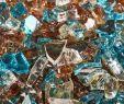 Blue Fireplace Glass Beautiful Fire Glass Blends Gardening