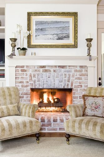 Brick Fireplace Designs New Fireplace Using 100 Year Old Reclaimed Chicago Brick and