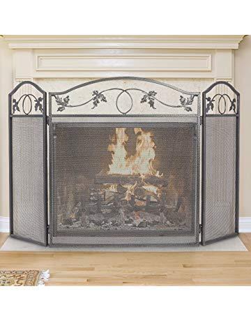 Brushed Nickel Fireplace Screen Luxury Shop Amazon
