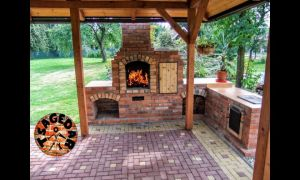 13 Awesome Building Outdoor Fireplace
