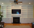 Built In Cabinets Around Fireplace Elegant Fireplace with Built Ins