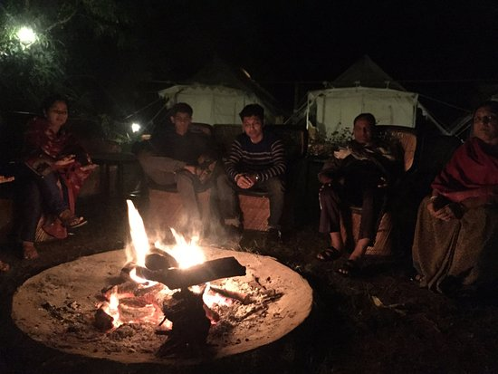Camping Fireplace Luxury Camp Fire Picture Of Jungle View Resort Sawai Madhopur