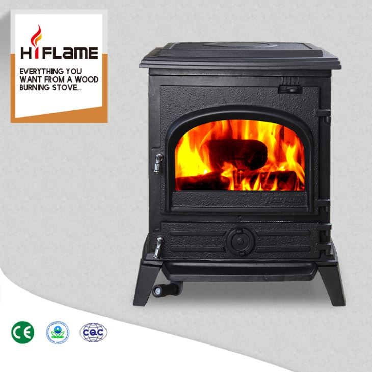 Cast Iron Fireplace Insert New Hf517u Epa Approved Hiflame Medium Sized Indoor Freestanding
