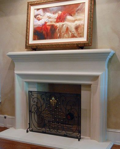 Cast Stone Fireplace New Clermont Fireplace Mantel Cast Stone