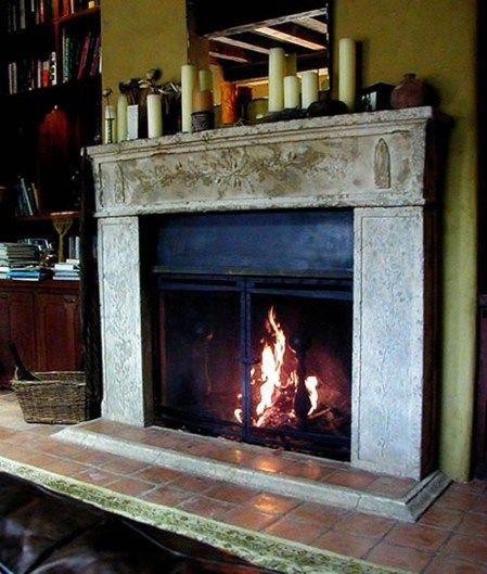 Cast Stone Fireplace Surrounds New ornate Gray Fireplace Surrounds Monterey Bay Cast Stone