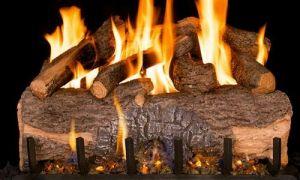 21 Luxury Ceramic Fireplace Logs