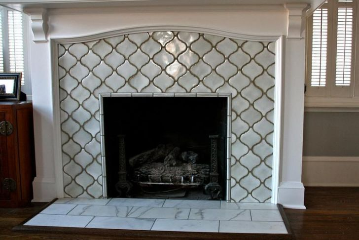 Ceramic Tile Fireplace New Moroccan Lattice Tile Fireplace Yes Please