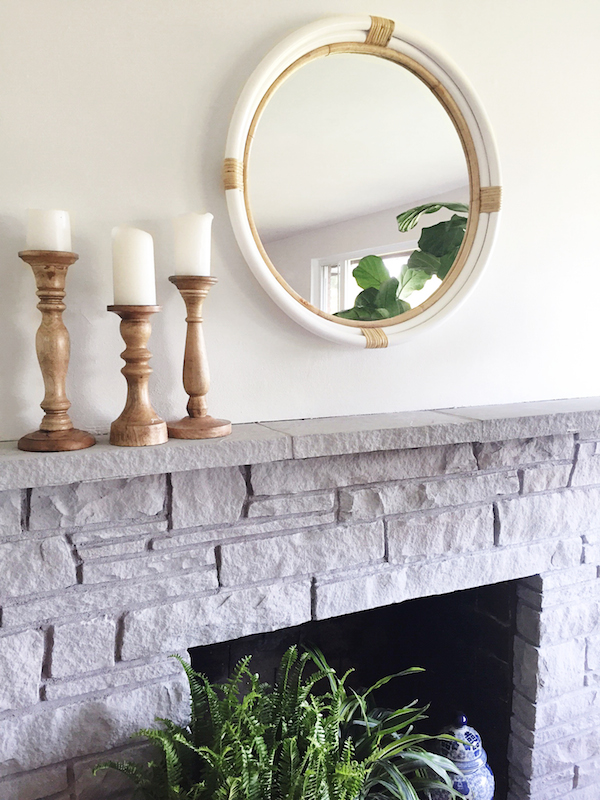 Chalk Paint Fireplace Awesome Paint Stone Fireplace Charming Fireplace