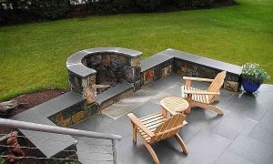 21 Lovely Cheap Outdoor Fireplace