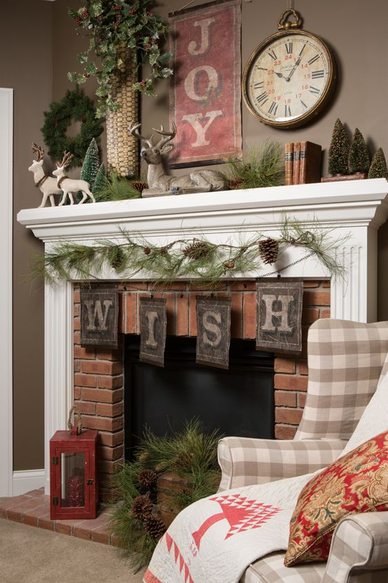 Christmas Fireplace Ideas Inspirational 50 Absolutely Fabulous Christmas Mantel Decorating Ideas