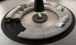 10 New Circular Fireplace