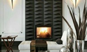 14 Awesome Contemporary Fireplace Tile Ideas