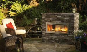 19 Fresh Contemporary Outdoor Fireplace