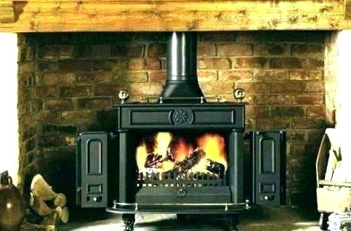 convert fireplace to wood stove zero clearance converting gas