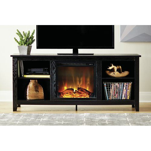 """Corner Electric Fireplace Media Center Inspirational Sunbury Tv Stand for Tvs Up to 60"""" with Electric Fireplace"""