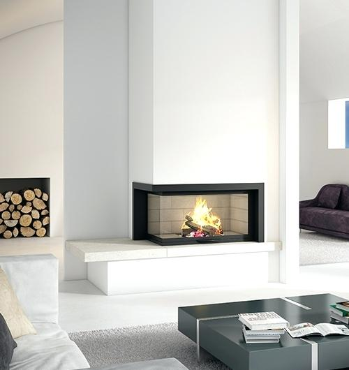 two sided gas fireplace ideas double fireplaces designer french suspended wood heaters sculpt