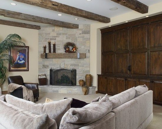 Corner Fireplace Designs Inspirational Family Room with Corner Fireplace