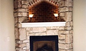 21 Lovely Corner Fireplace Ideas In Stone