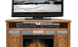 15 Inspirational Corner Fireplace Tv Stands