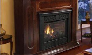 25 Luxury Corner Ventless Propane Fireplace