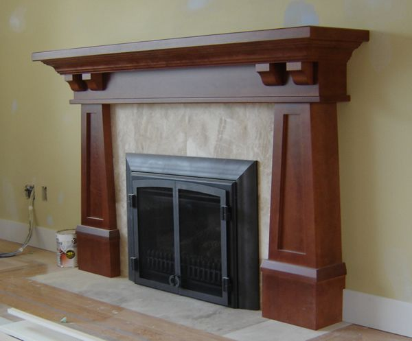 Craftsman Fireplace Elegant Arts and Crafts Mantels