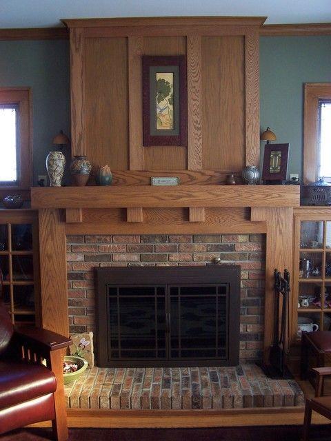 bfcfbdad6f75cf7cc3150c5904cedc8f craftsman fireplace mantels concrete fireplace