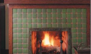 13 Beautiful Craftsman Fireplace Tile