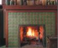 Craftsman Style Fireplace Surround Fresh Craftsman Fireplace Tile I Like the Wood Trim Around the