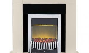 15 Beautiful Cream Electric Fireplace