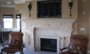 23 Luxury Custom Fireplace