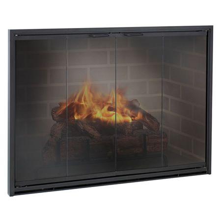 Custom Glass Fireplace Door Beautiful Stiletto Masonry Aluminum Fireplace Glass Door
