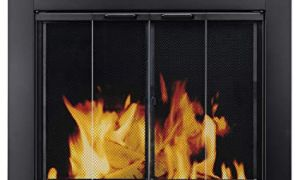 25 Inspirational Custom Glass Fireplace Doors
